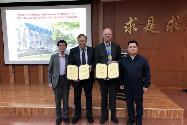 CCB visits Jilin University, Xi'an Jiaotong University and Shanghai Tech University