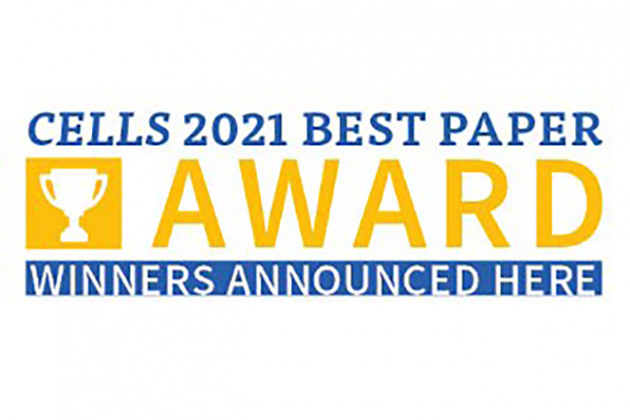 Cells 2021 Best Paper Awards announcement