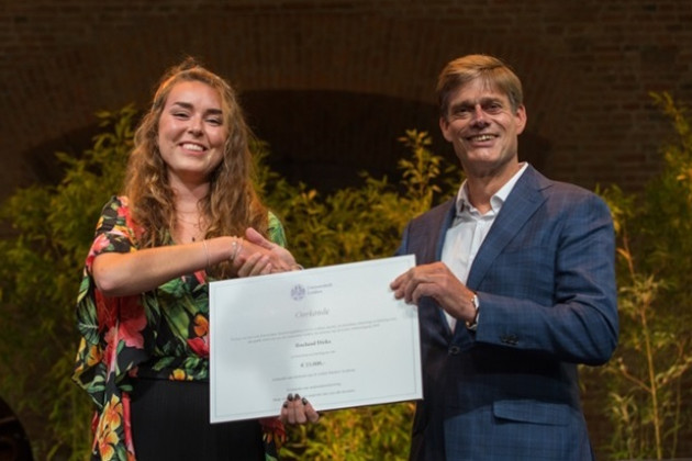 THE LEIDEN TEACHING PRIZE 2018 AWARDED TO ROELAND DIRKS